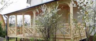 Материалы и порядок строительства дачной террасы своими руками
