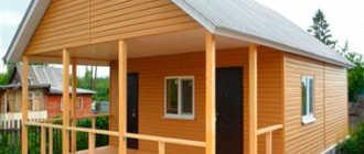 Как построить каркасный дачный домик своими руками: пошаговая инструкция