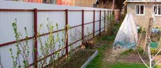 Забор на даче своими руками: как сделать, из чего