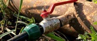 Водопровод на даче своими руками: рекомендации по проведению летнего водопровода