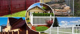 Дешевый забор для дачи: виды материалов и этапы возведения