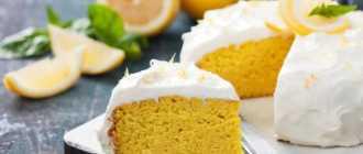 Лимонный кекс: пошаговые рецепты