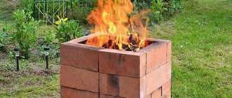 Инструкция, как сделать своими руками печь для сжигания мусора на даче